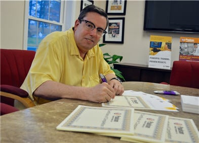 Craig Paulson Paulson Training Signing Plastics ProMolder Certificates