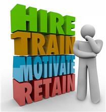 Hire Train Motivate and Retain employees
