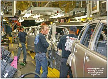 auto manufacturer training job security