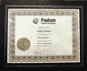 Paulson Certification