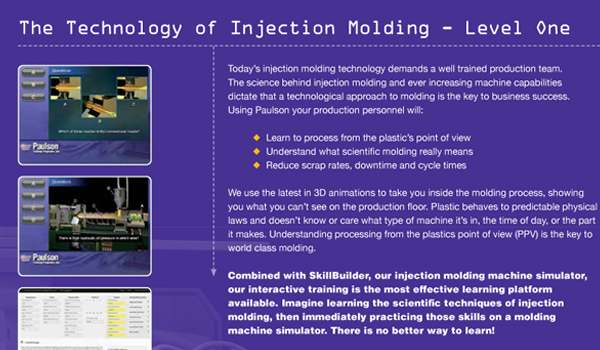 NEW! The Technology Of Injection Molding