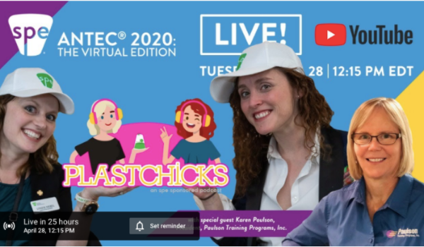 "Karen Paulson Adds Her Voice To The ""Voices Of Resin"" In SPE's ANTEC PlastChicks Podcast"